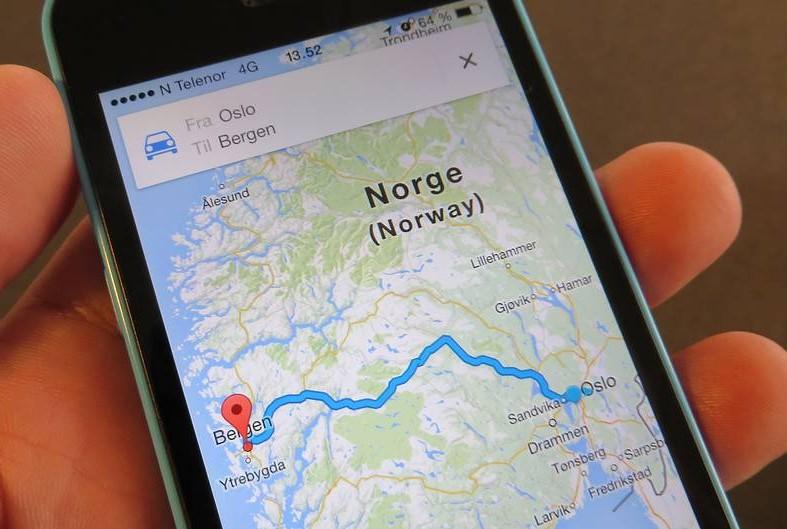 Slik bruker du Google Maps uten nett