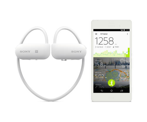 Hodetelefoner med GPS (og DJ)