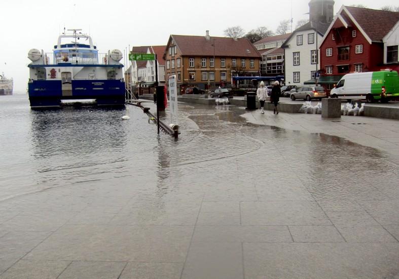 Norge må forberede seg på stigende havnivå og høyere stormflo