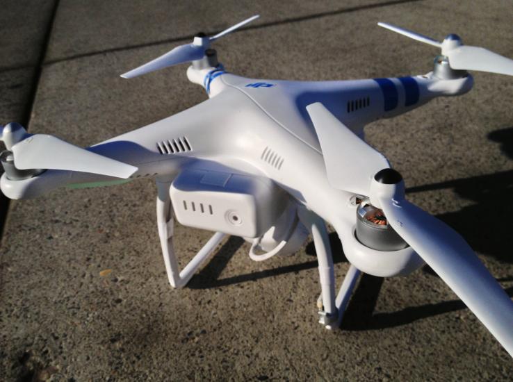 Dømt for ulovlig droneflyvning