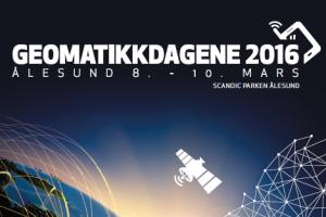 All info Geomatikkdagene 2016