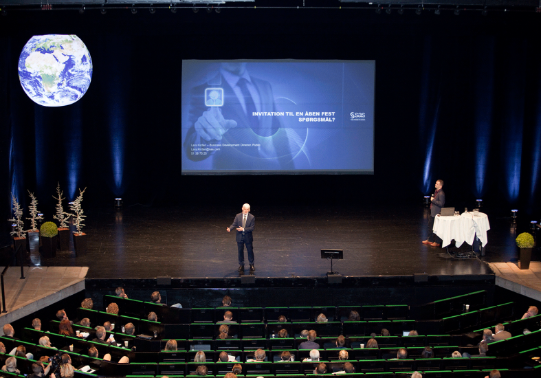 Dejlig å holde foredrag i Danmark