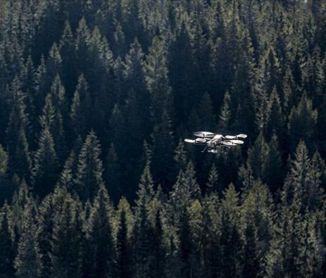 Norskprodusert drone følger deg