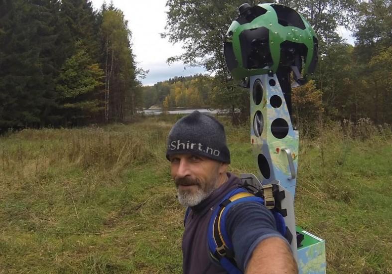 Podcast: Bjørn kartlegger norsk natur i 360° for Google