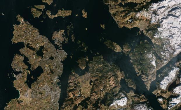 Testet måling av havnivå over Norge