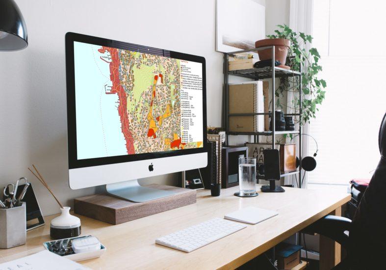 Webinar om digital kartografi