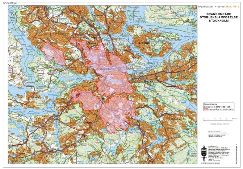 Skogbrannene i Sverige