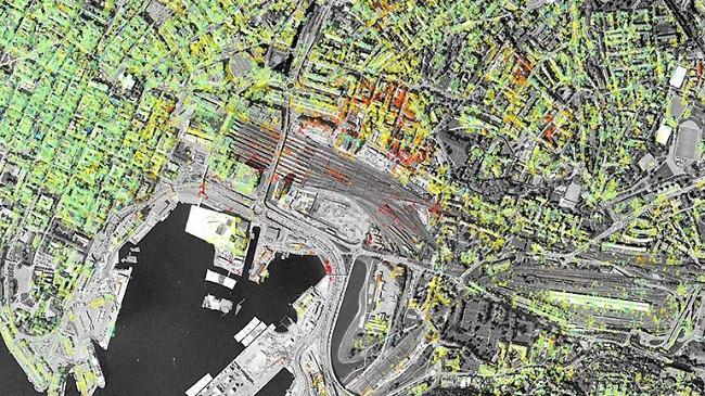 Nå kan du sjekke hvordan Norges byer synker