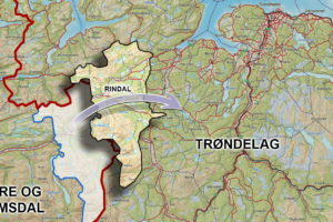 Norgeskartet blir endret 1. januar 2019