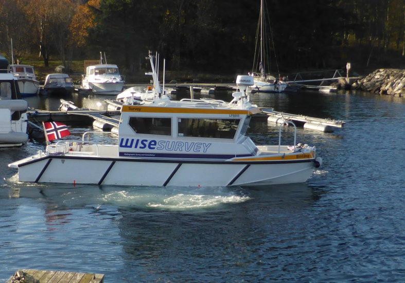 Wise Survey AS godkjent som leverandør av sjømåling til offisielle sjøkart