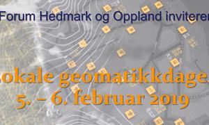 Lokale geomatikkdager Hedmark og Oppland 2019