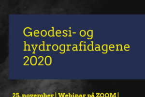 Geodesi- og hydrografidagene 2020