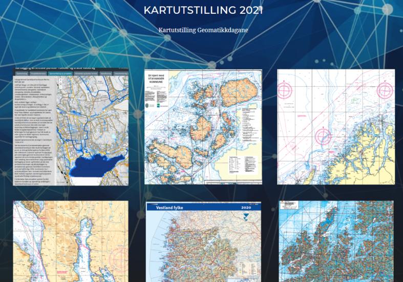 Kartutstilling Geomatikkdagene 2021